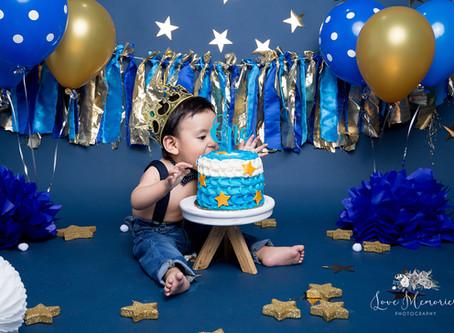 Aiden   Smash Cake