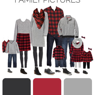What to Wear for Family Pictures_ Buffal