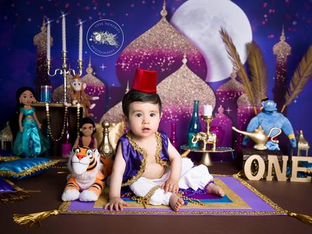 Aladdin  | Smash Cake Toluca