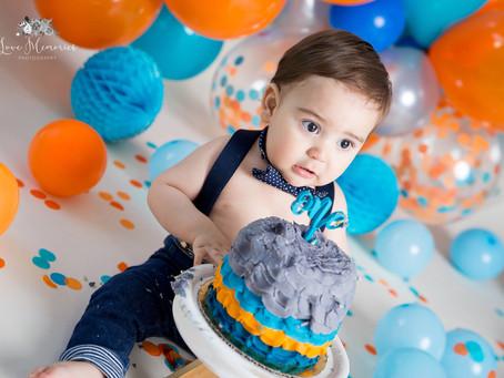 Ian  | Smash Cake Toluca