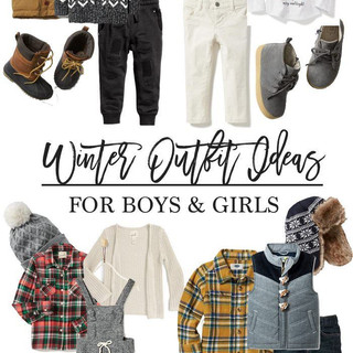 Winter Outfit Ideas for Kids - Lynzy & C