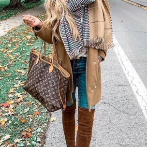 Casual Over The Knee Boots Outfit.jfif