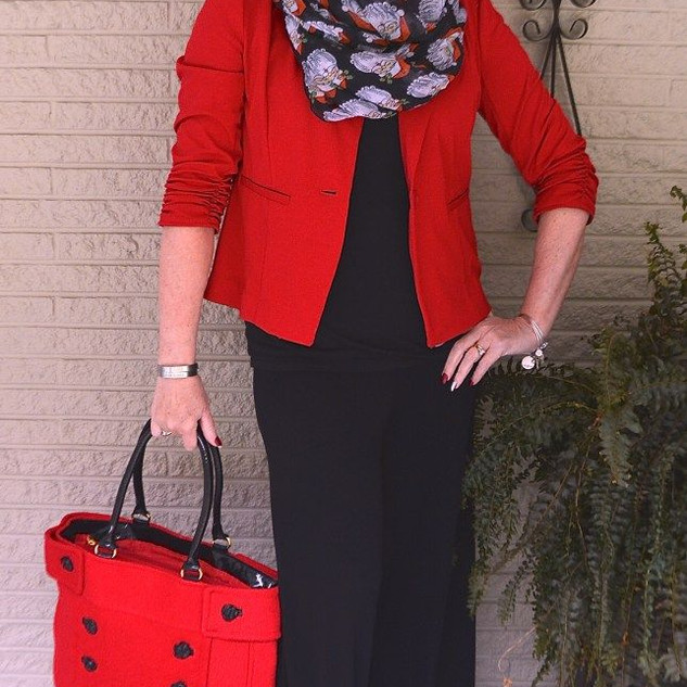 RED AND BLACK A CLASSIC COMBINATION - 50
