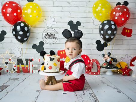 Mickey Mouse  | Smash Cake Toluca