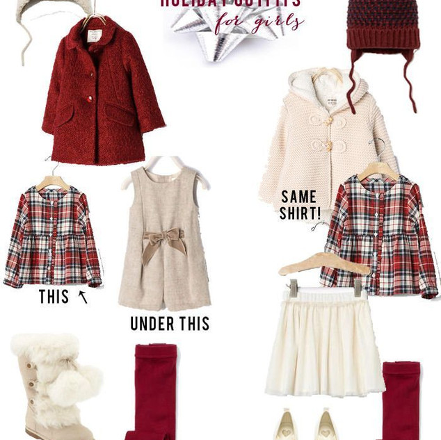 Holiday Outfits for Toddlers_Girls - Lyn