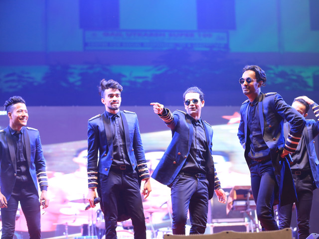 MJ5 Dance Group for Collage Fest