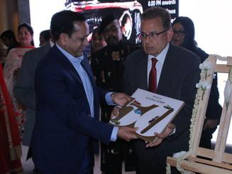 Book Launchin by Mr Justice Bhandari