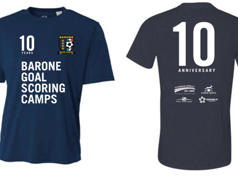 Official 10th Anniversary Camp Shirt