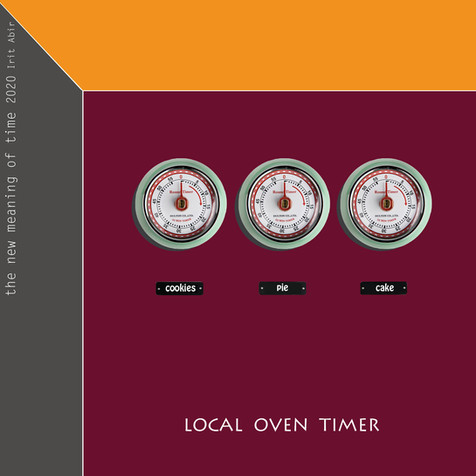 The new definition of time: Local Oven Timer
