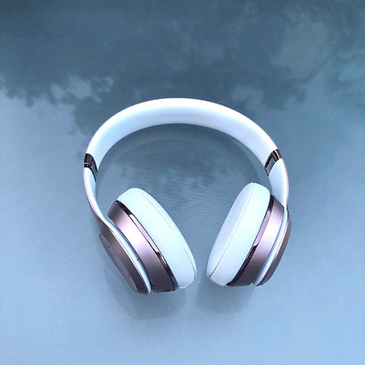 H is for Headphones