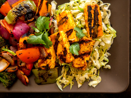 Tava Paneer and Vegetables