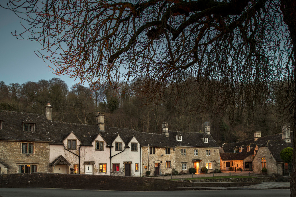 The village of Castle Combe