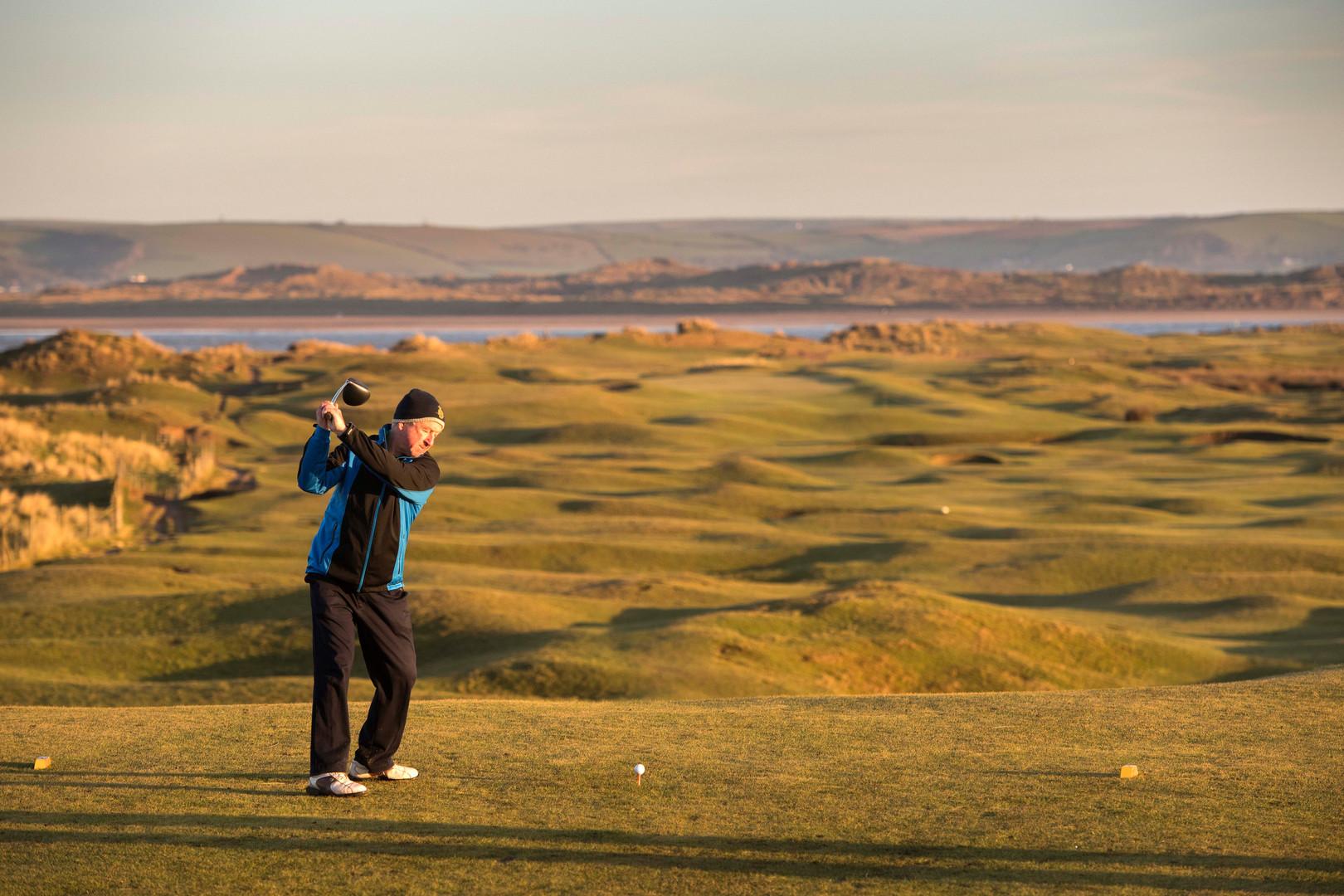 Golf at Westward Hoe