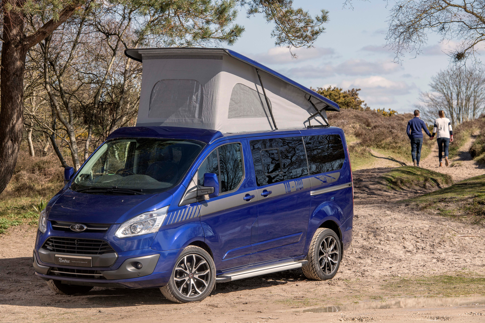 Ad picture for a bespoke campervan manufacturer