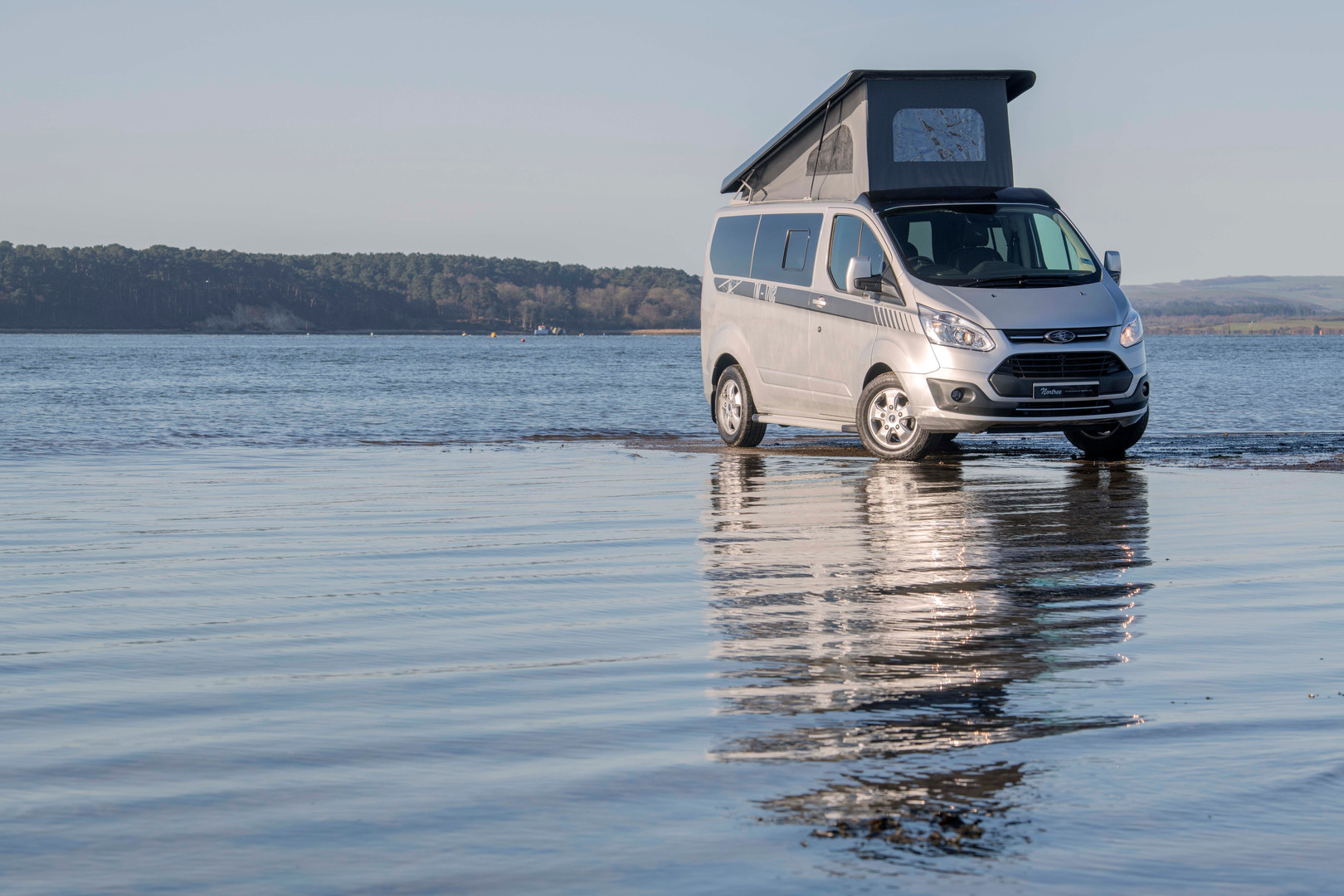 Ad picture fora bespoke campervan company.