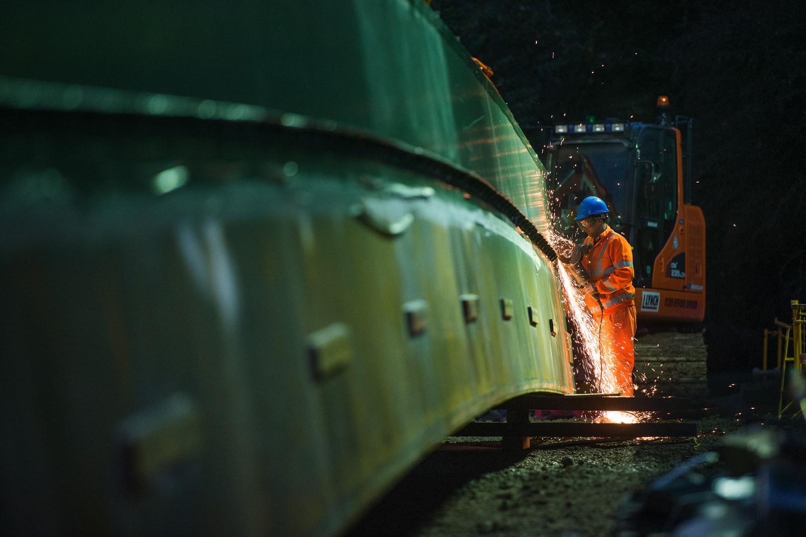 Industrial shoot,