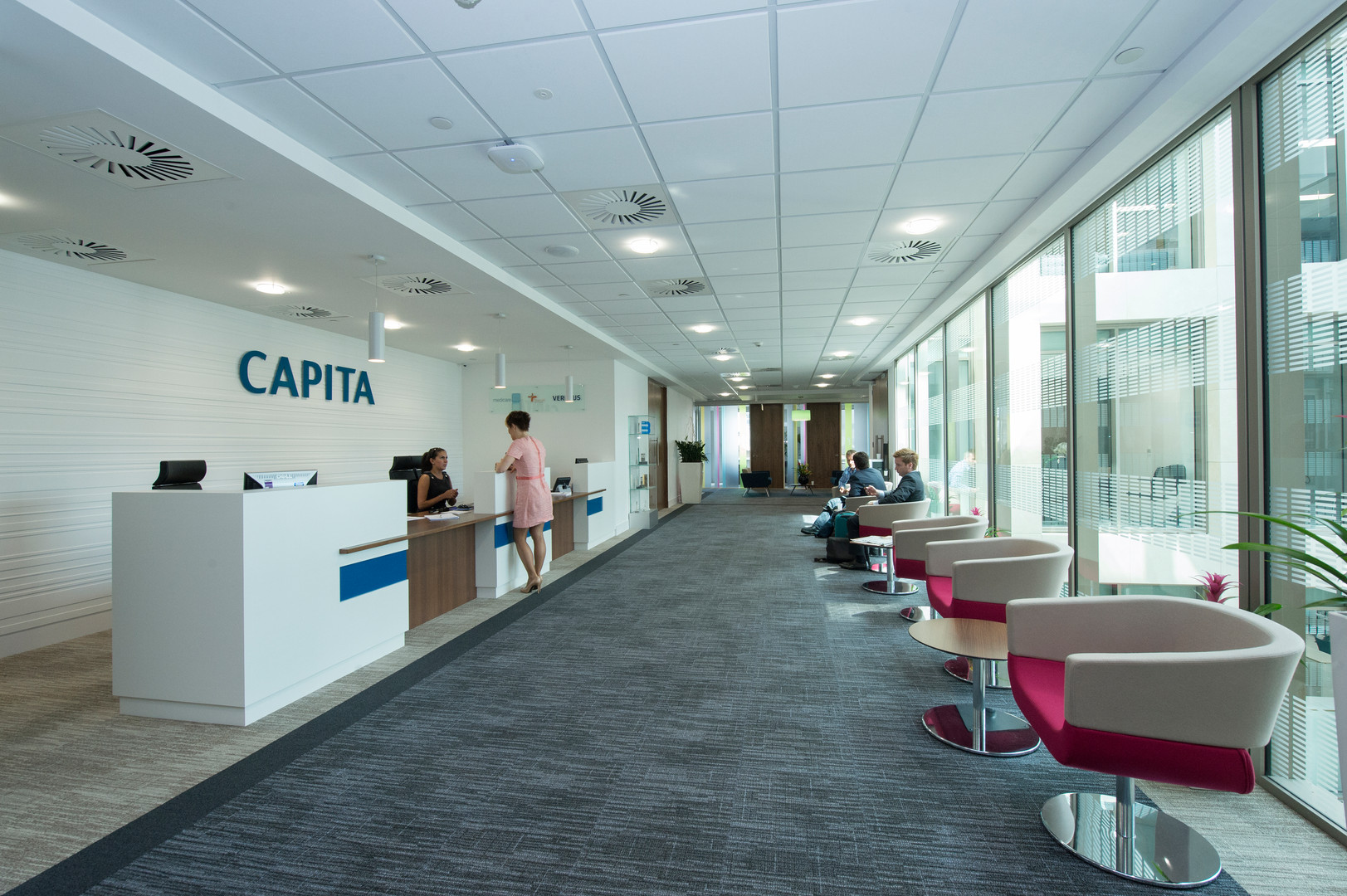 Capita, London offcie reception