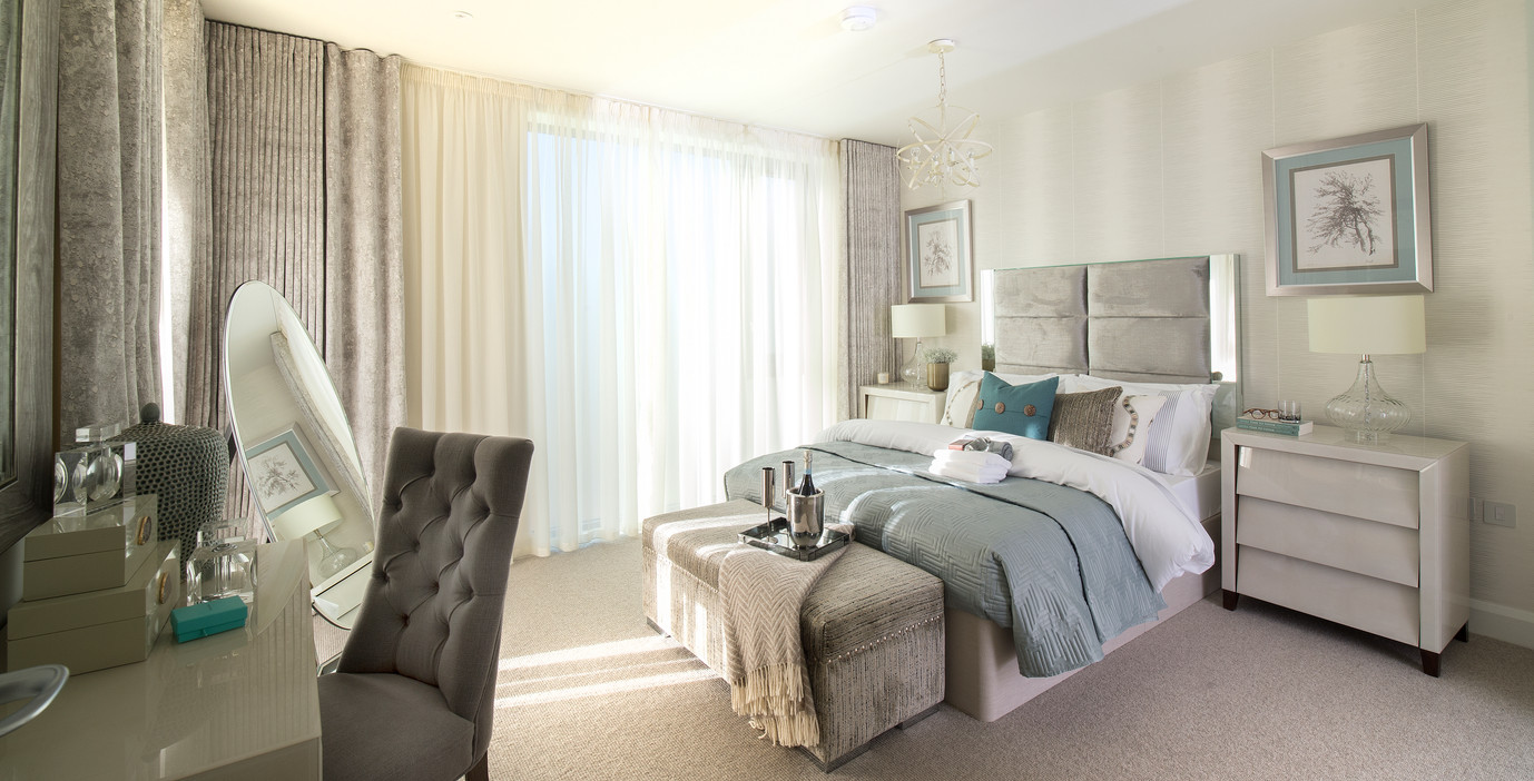 internal picture of s penthouse suite in Poole