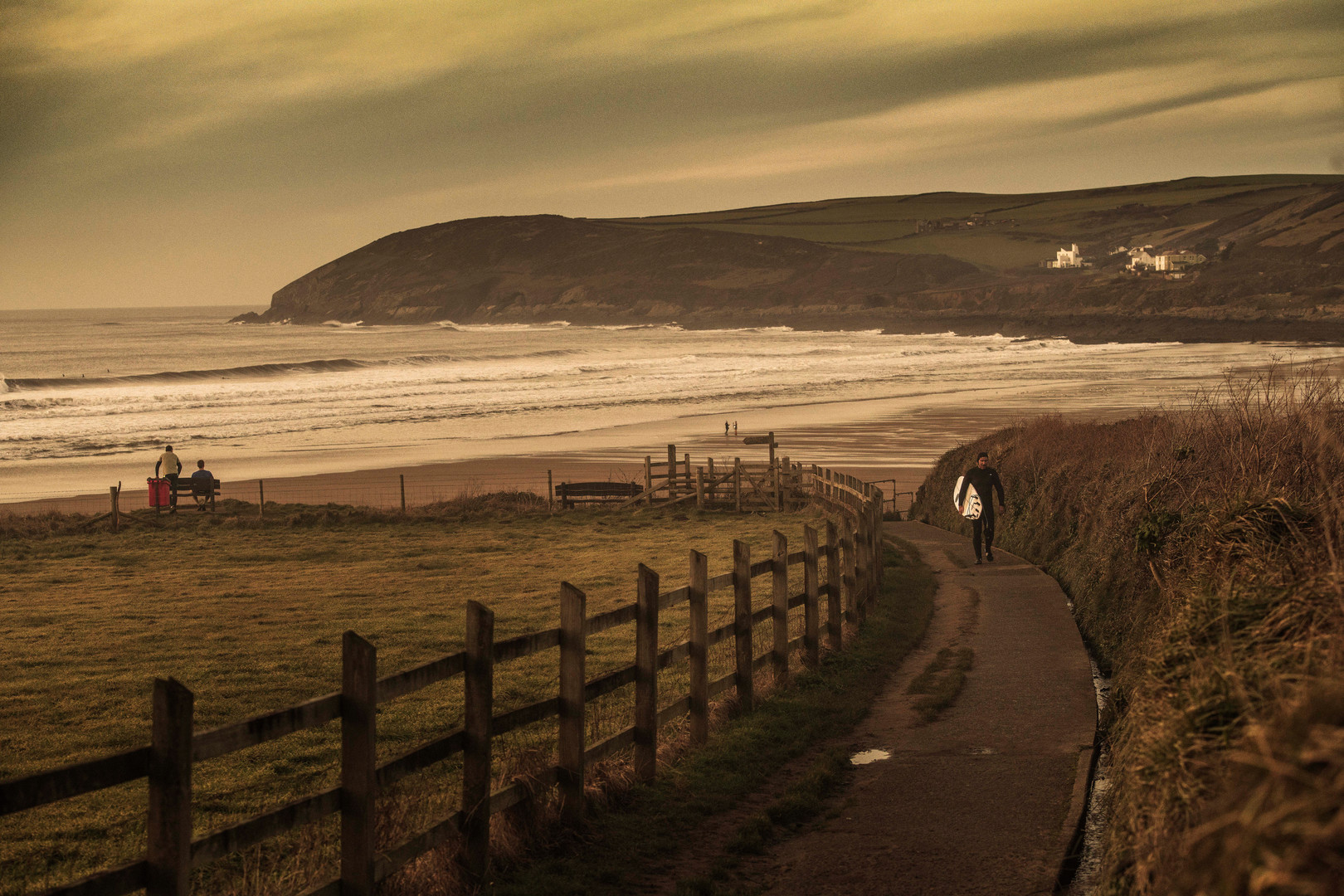 Croyde Bay, Devon.