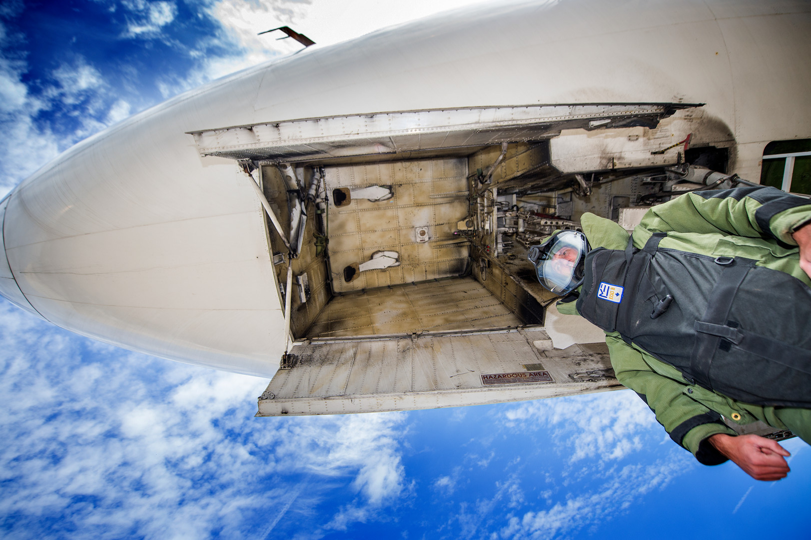 A training course for aircraft security