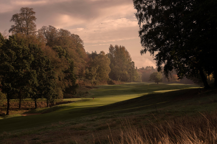 Hole no 8 at the Bowood Golf Club