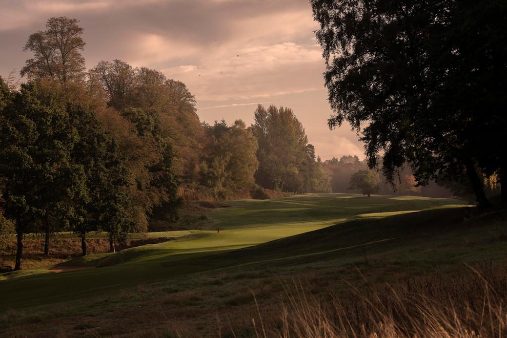 Hole no 8 at the Bowood Golf Club