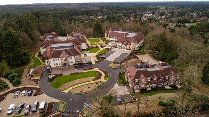Drone Photography- St Ives care Home- Ringwood