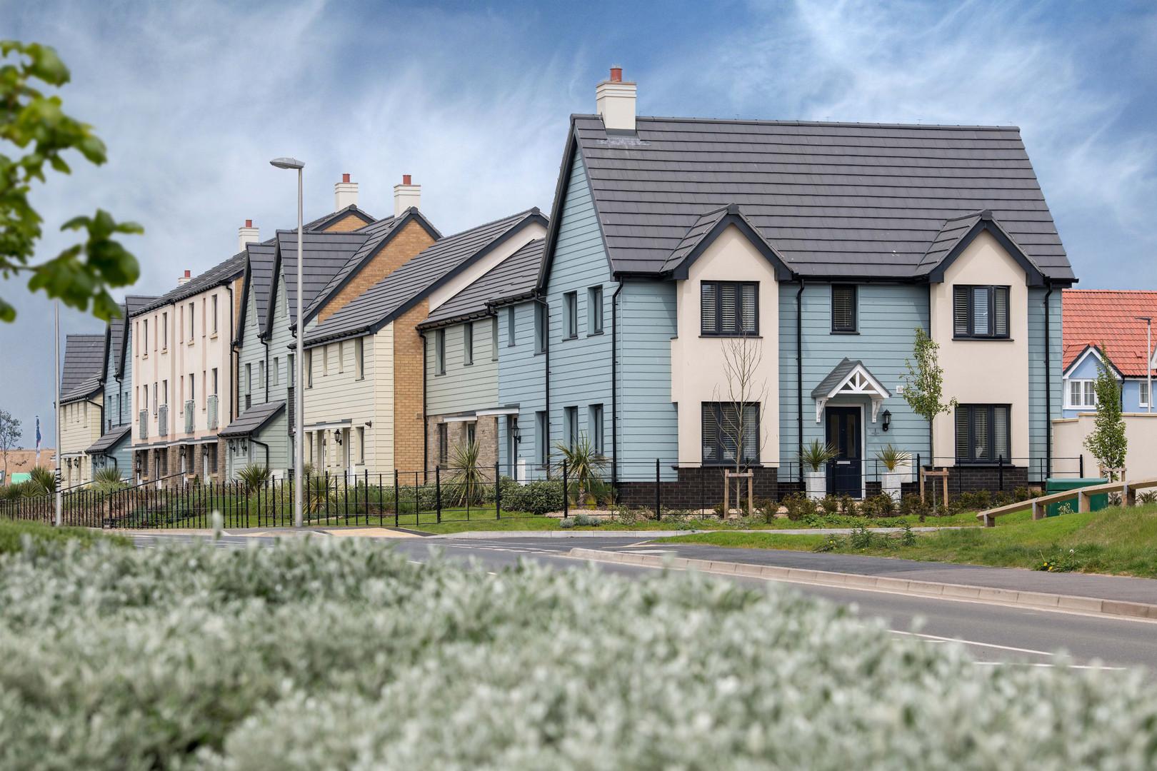 Bovis Homes- street scene