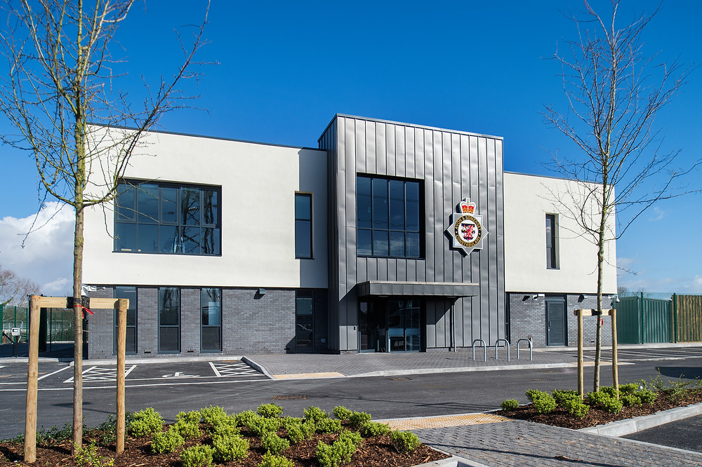 A picture of a newly completed building in Weston Super Mare