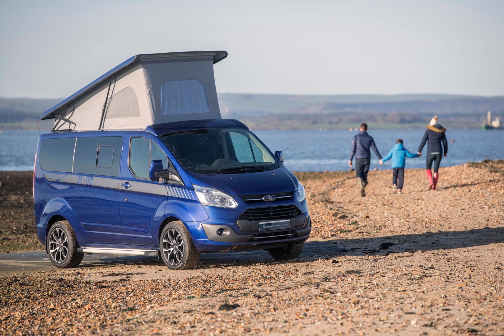 A new bespoke campervan ad shot
