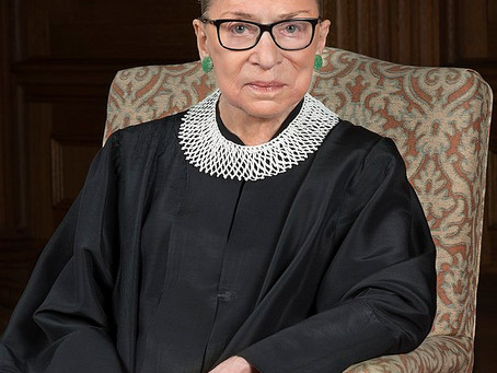 """""""Writing Not For Today, But Tomorrow"""": On the Death of Ruth Bader Ginsburg"""