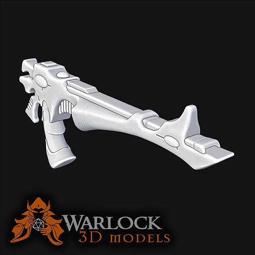 Shuriken Catapult inspired STL file