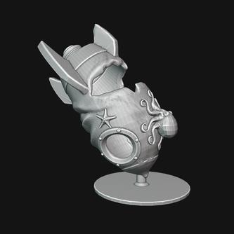 Crashed Rocketship