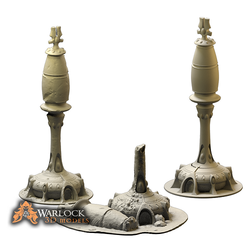 Space Elf Comunication Tower Set