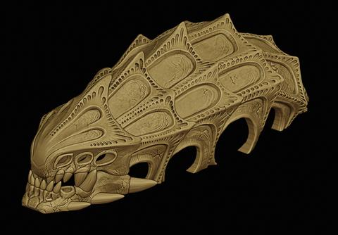 Subnautica Skull