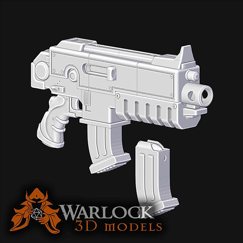3D Printable Bolter gun Inspired Prop STL files