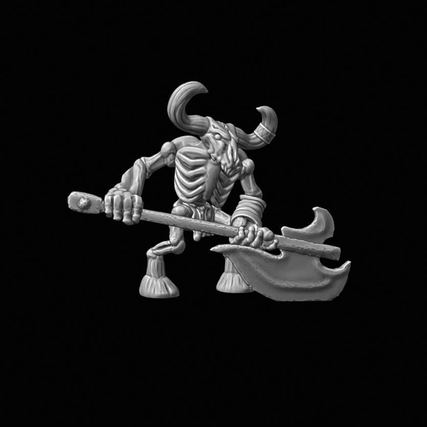 2_1_Minotuar Skeleton