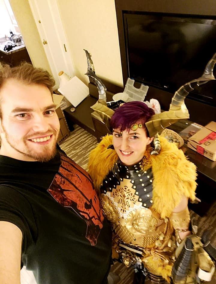 Kulve Taroth cosplay crunch victory