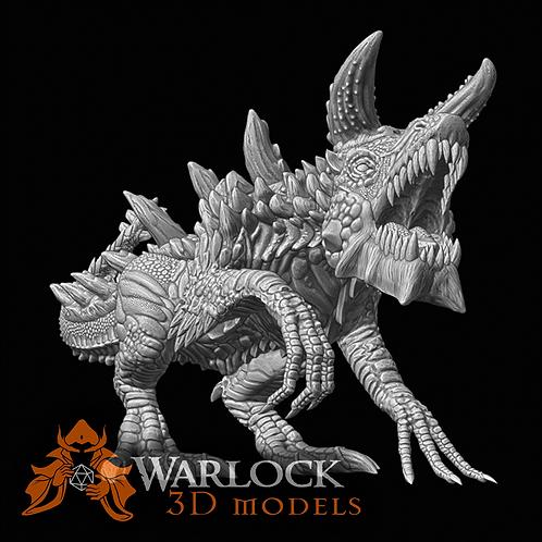 Tarrasque 3D printed