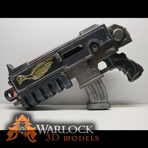 Bolter gun Inspired 3D printed prop Kit