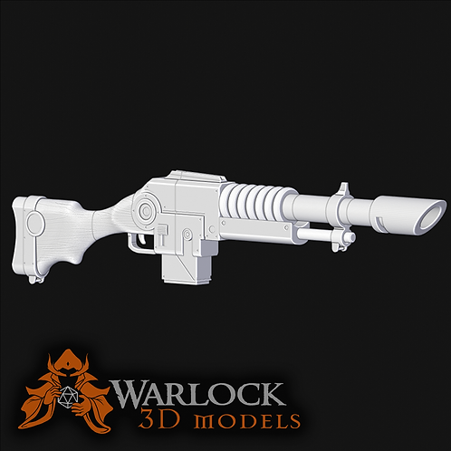 Lasgun inspired 3D Printed prop kit