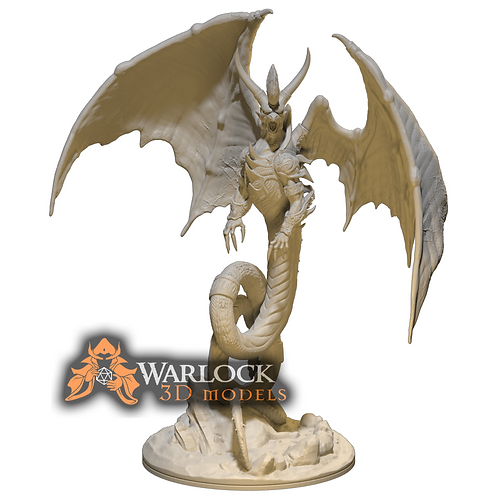 Guardian Dragon STL file
