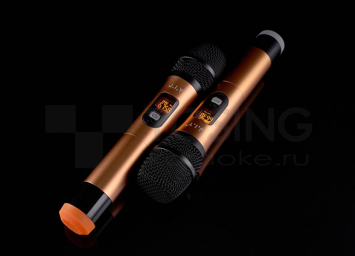 радиомикрофоны беспроводные для караоке