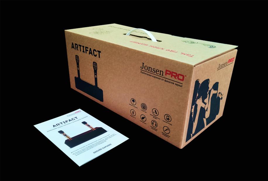 Фирменная коробка Jonsen PRO ARTIFACT.jp