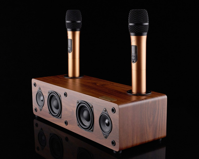 Колонка с микрофоном для караоке ARTIFAC