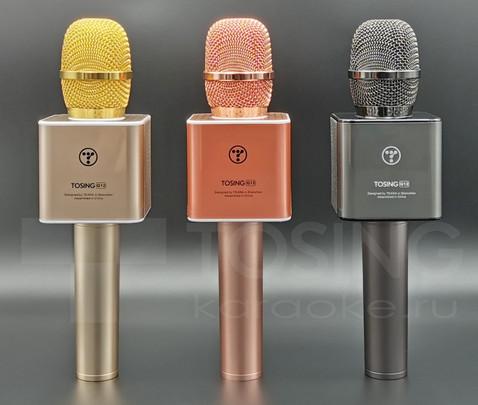 Логотип на микрофоне