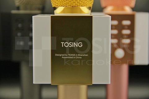 крупный план на логотип Tosing