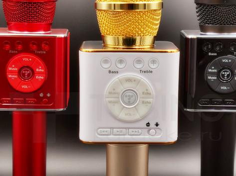Панель управления микрофонов караоке