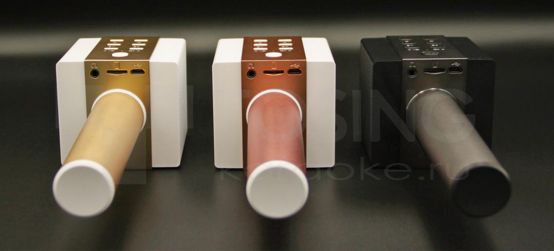 Вид снизу на разъемы микрофона