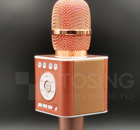 вид сбоку на микрофон